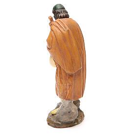 Pastor con gaita pintada 10 cm Linea M. Landi s2