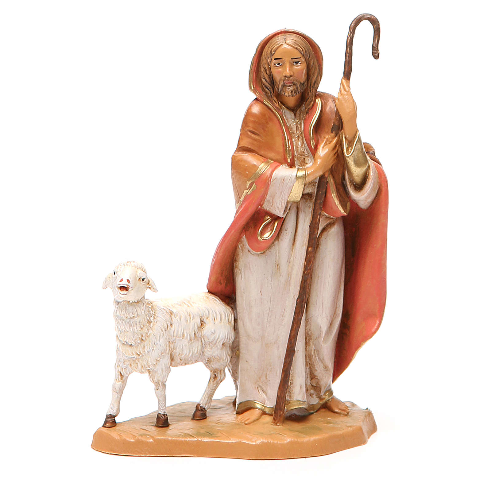 Bon pasteur mouton crèche 12 cm Fontanini 3