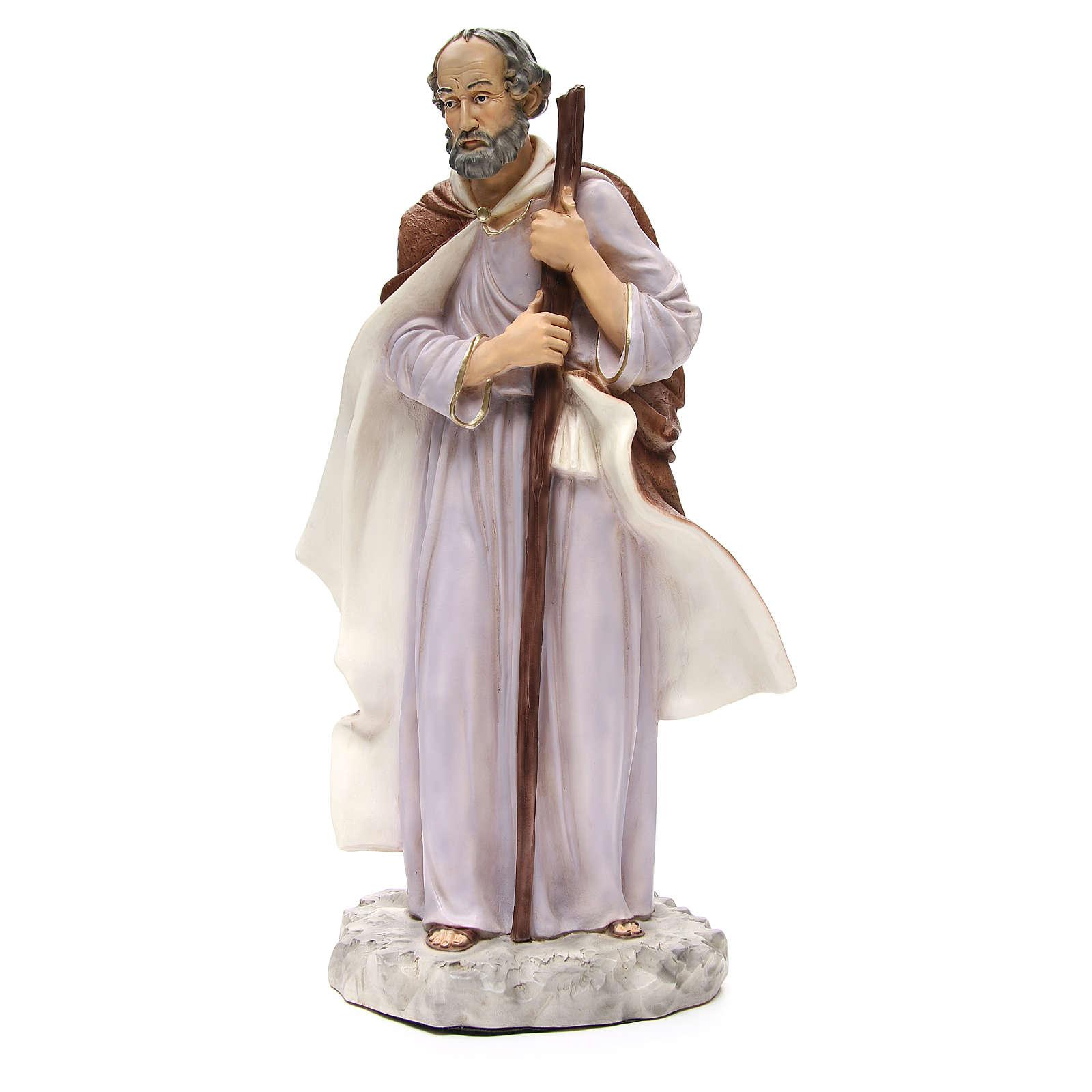 Statue St Joseph pour crèche 65 cm 3
