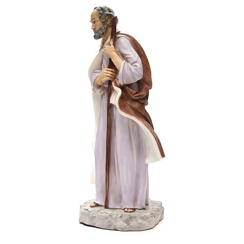 Statue St Joseph pour crèche 65 cm 2