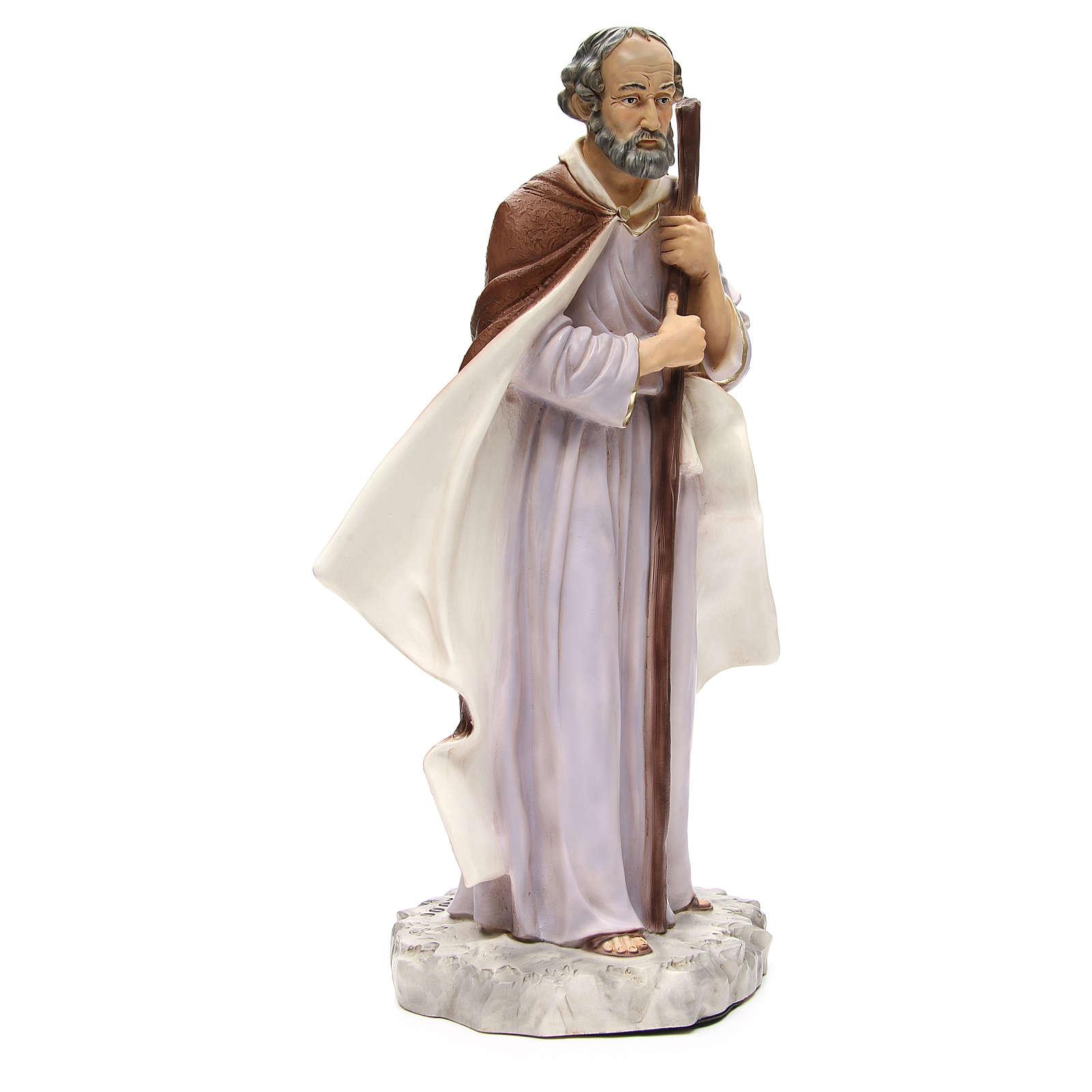 Statua Giuseppe per presepe 65 cm 3