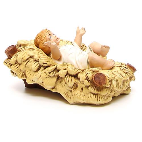 Statua Bimbo Gesù per presepe 65 cm 3