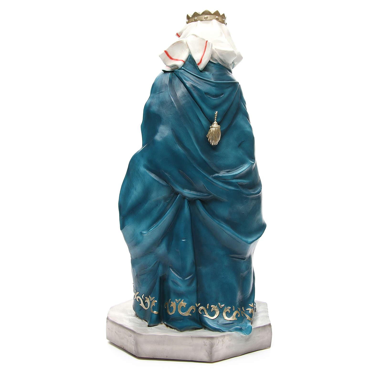 Statua Baldassarre Re Magio per presepe 65 cm 3
