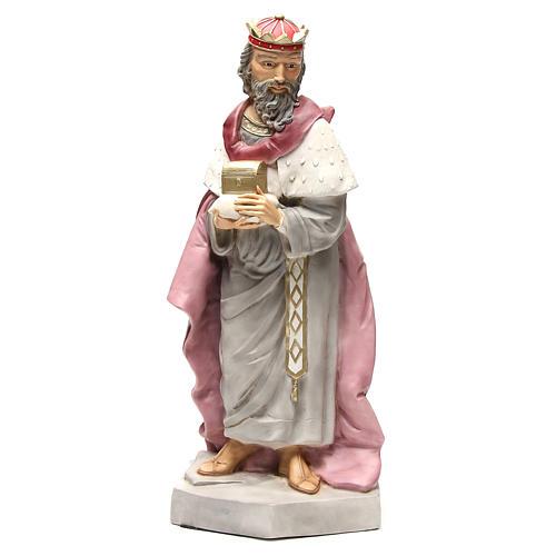 Statue Roi Mage Gaspard pour crèche 65 cm 1