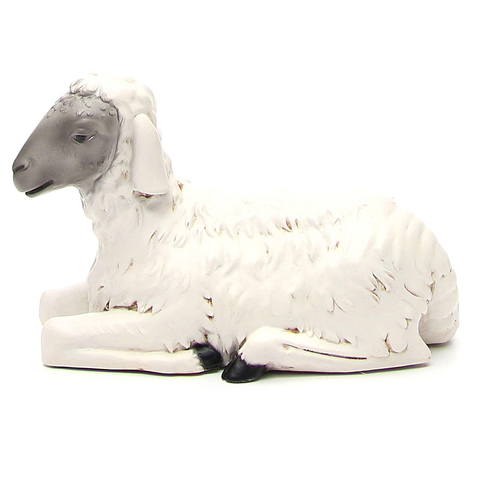 Statua pecorella per presepe 65 cm 3