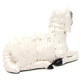 Statua pecorella per presepe 65 cm s3