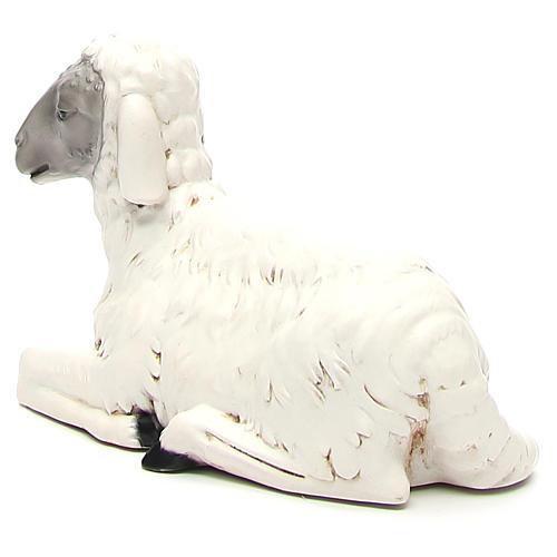 Statua pecorella per presepe 65 cm 2