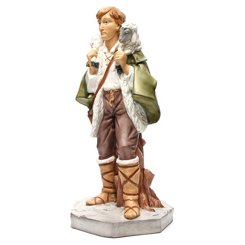 Shepherd with sheep figurine for 65cm nativity 2