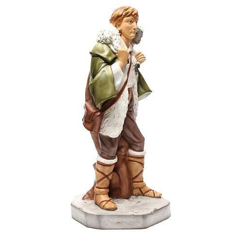 Statue berger avec mouton pour crèche 65 cm 4