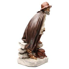 Figura pastor con alforja para belén 65 cm s4