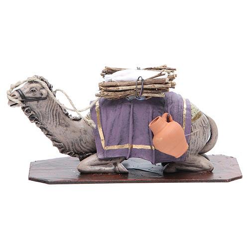 Camello en rodillas terracota 17 cm 1