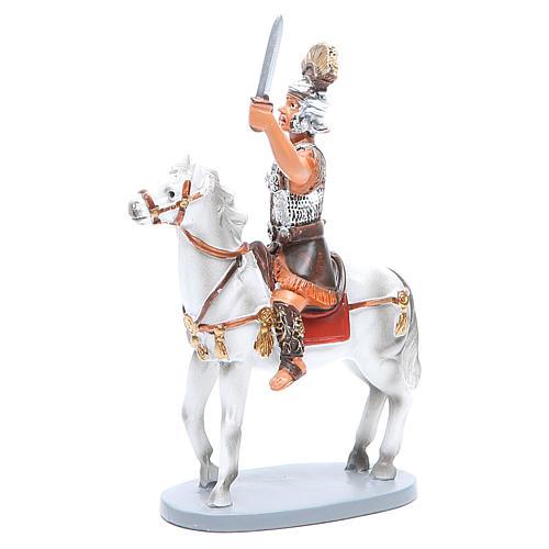 Soldat /à cheval pour cr/èche de cm 10