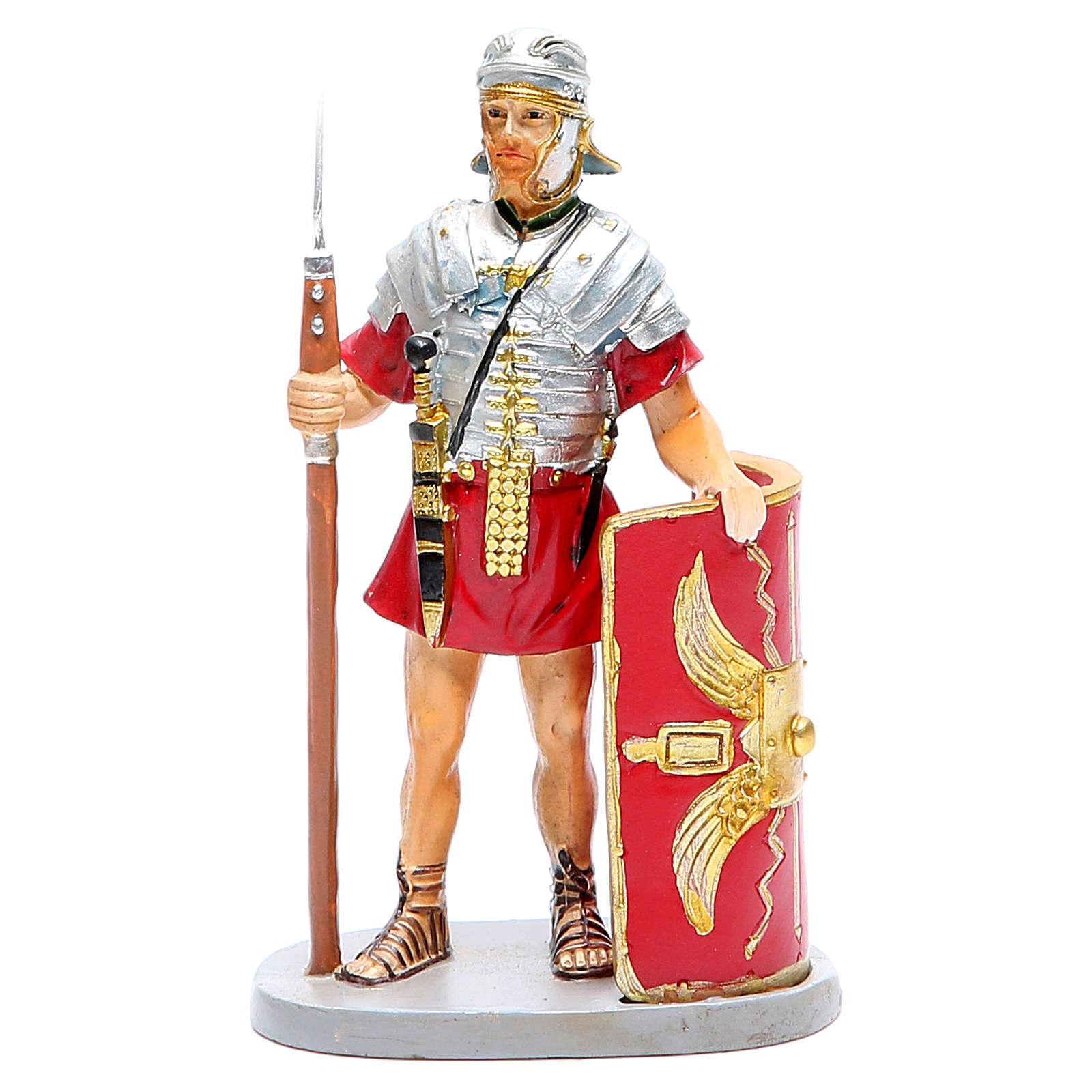 Soldato con scudo 12 cm Linea Martino Landi 3