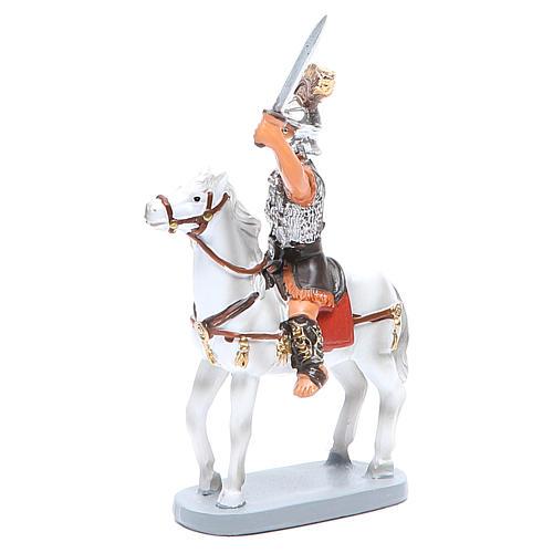 Soldado en cavallo 10cm Linea Martino Landi 2
