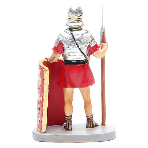 Soldier with shield 10cm Martino Landi Collection 2