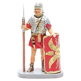 Statue per presepi: Soldato con scudo cm 10 Linea Martino Landi