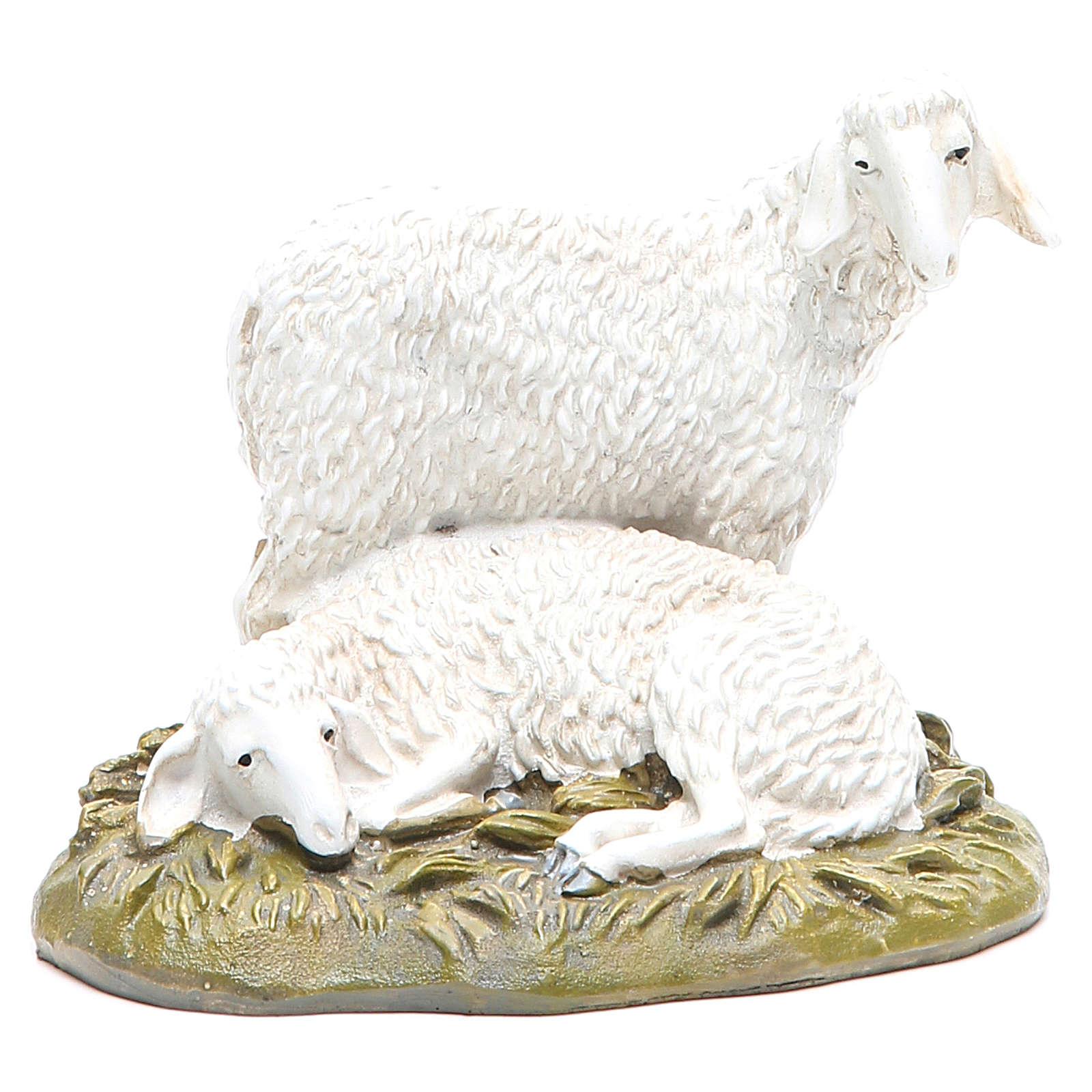Pecore 16 cm gruppo Linea Martino Landi 3