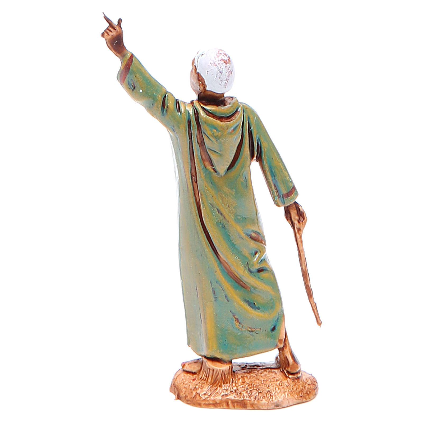 Hombre indicando el camino 6,5 cm Moranduzzo en trajes de época 4