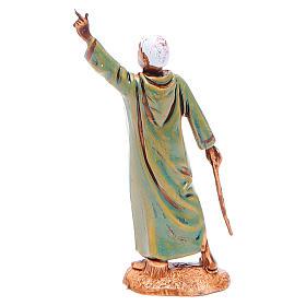 Hombre indicando el camino 6,5 cm Moranduzzo en trajes de época s2