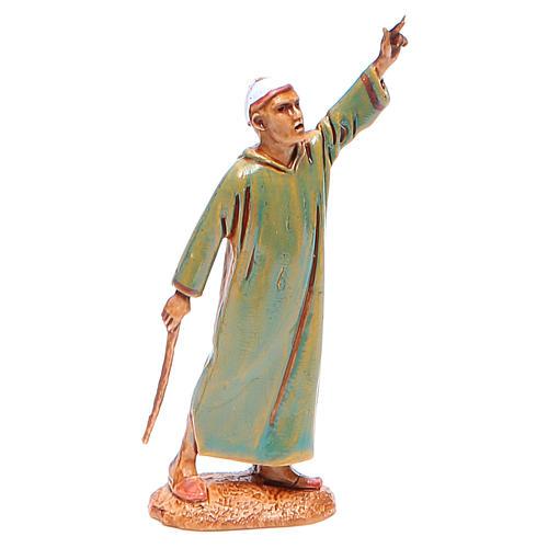 Hombre indicando el camino 6,5 cm Moranduzzo en trajes de época 1