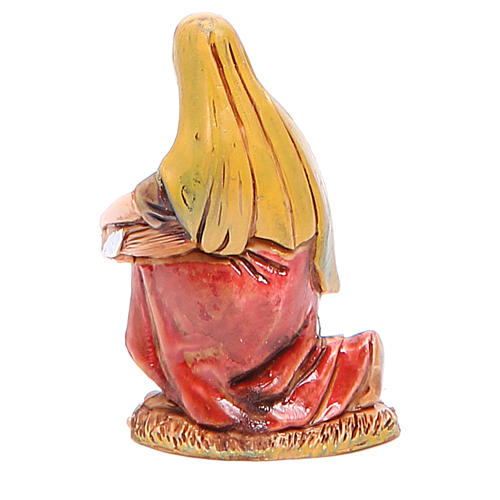 Lavandaia 6,5 cm Moranduzzo costumi storici 2