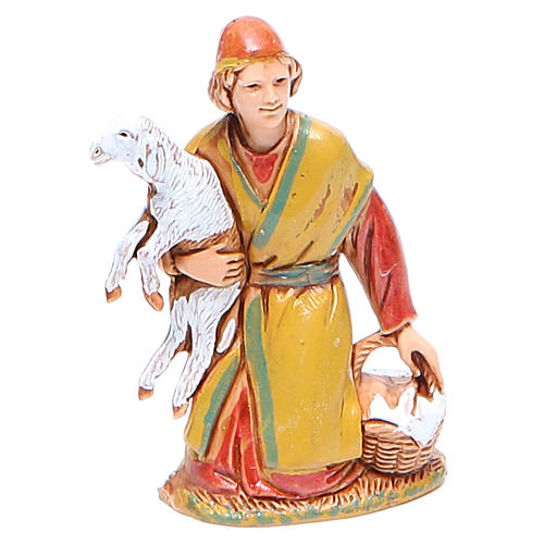 Shepherd carrying sheep 6.5cm by Moranduzzo, historic costumes 1