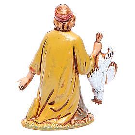 Homem de joelhos 6,5 cm Moranduzzo linha histórica s2