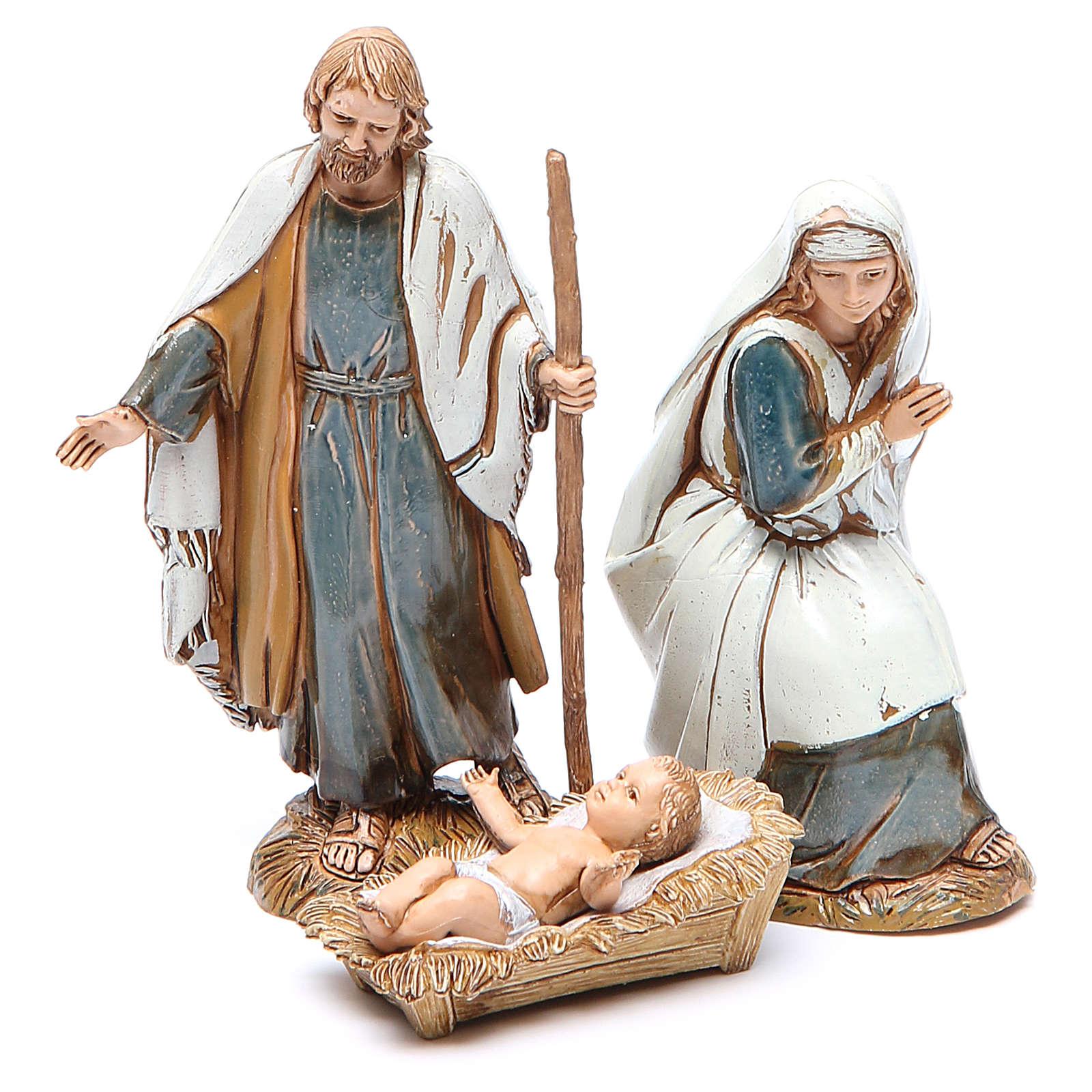 Nativité 10 cm Moranduzzo vêtements historiques 4