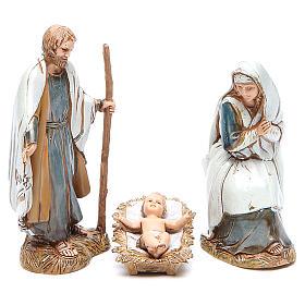 Nativité 10 cm Moranduzzo vêtements historiques s1