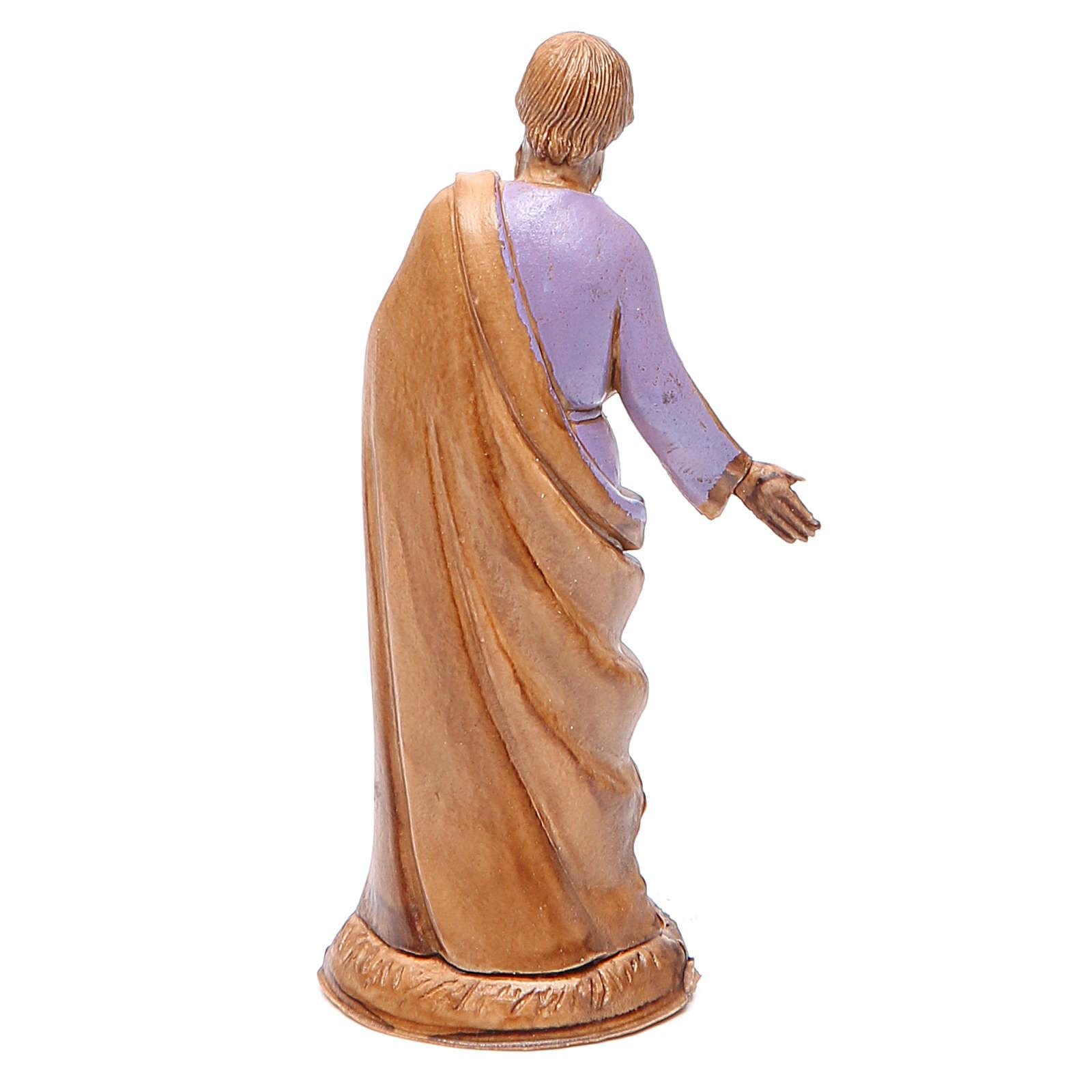 San Giuseppe 10 cm stile classico Moranduzzo 4