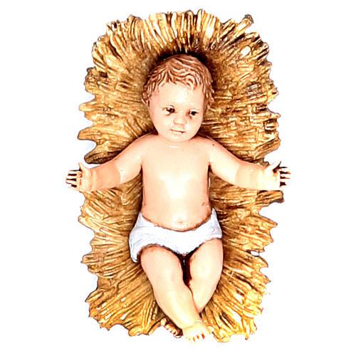Gesù Bambino 10 cm Moranduzzo stile classico 1