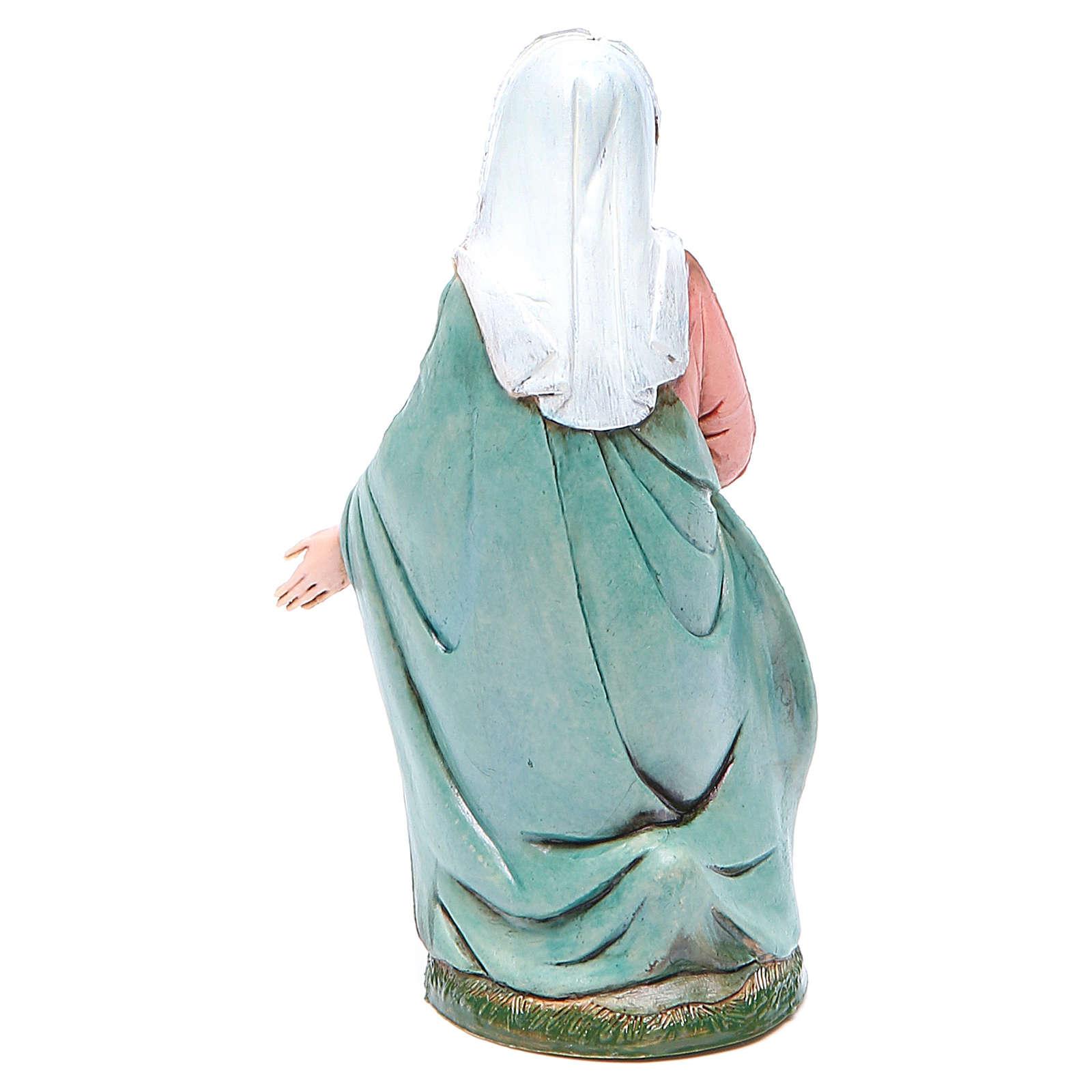 Virgen María 12 cm Moranduzzo estilo clásico 4