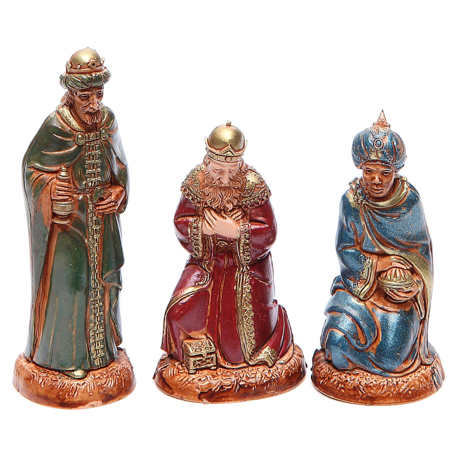 Reyes Magos 10 cm Moranduzzo estilo clásico 4