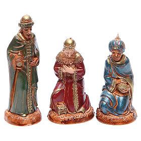 Reyes Magos 10 cm Moranduzzo estilo clásico s1