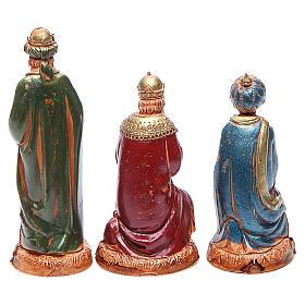 Reyes Magos 10 cm Moranduzzo estilo clásico s2