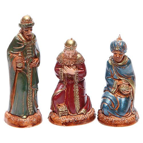 Reyes Magos 10 cm Moranduzzo estilo clásico 1
