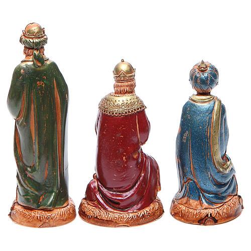 Reyes Magos 10 cm Moranduzzo estilo clásico 2