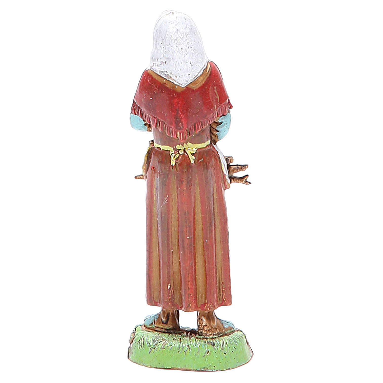 Old woman, classic style for nativities of 10cm by Moranduzzo 4
