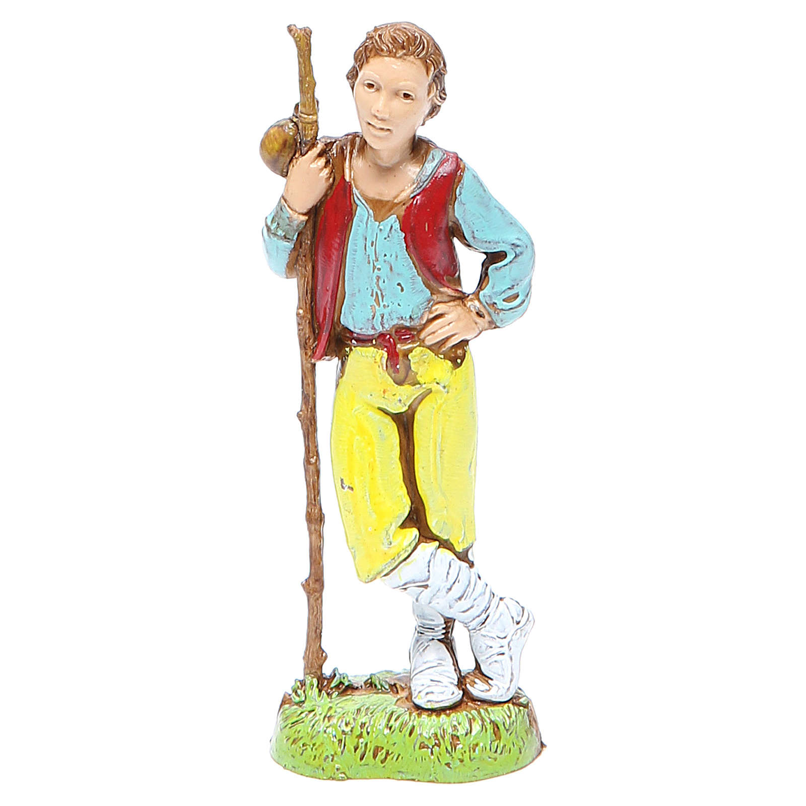 Young shepherd, classic style for nativities of 10cm by Moranduzzo 4