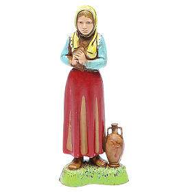 Woman with jug, classic style for nativities of 10cm by Moranduzzo s1