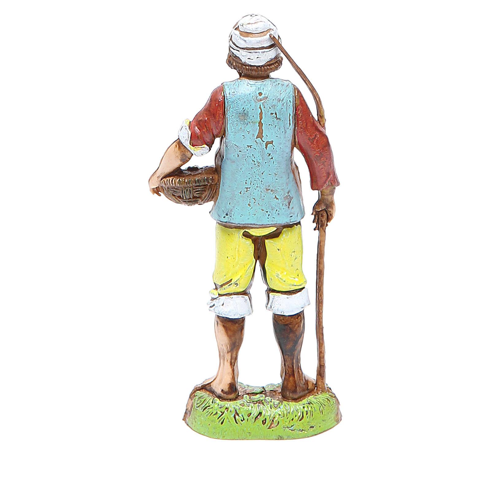 Pescatore 10 cm Moranduzzo stile classico 4