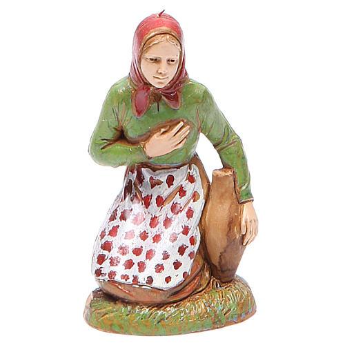 Mujer en adoración 10 cm Moranduzzo estilo clásico 1