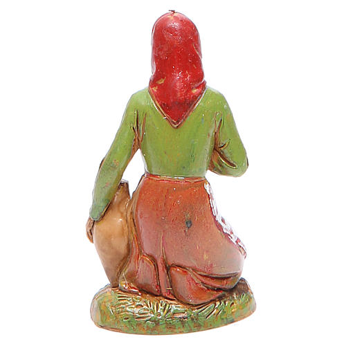 Mujer en adoración 10 cm Moranduzzo estilo clásico 2