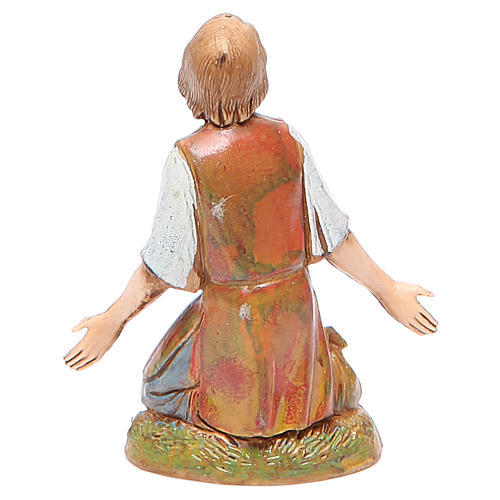 Figura hombre maravillado 10 cm belén Moranduzzo estilo clásico 2