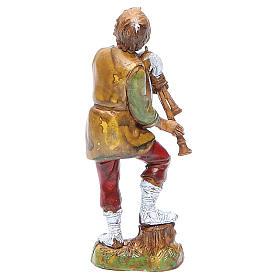 Bagpiper player 10cm classic style, Moranduzzo Nativity Scene s2
