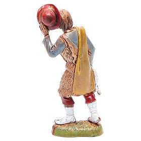 Pastore con cappello 10 cm Moranduzzo stile classico s2