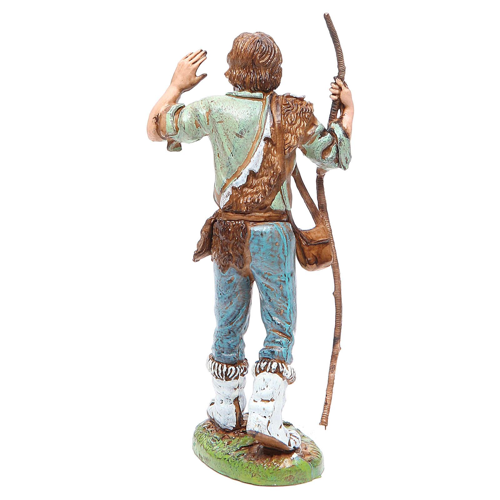 Shepherd with stick 12cm by Moranduzzo, classic style 4