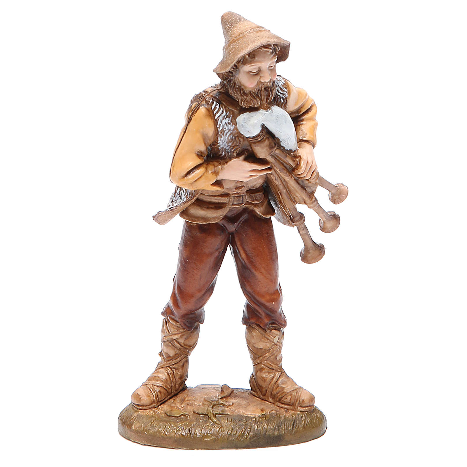 Figura tocador de gaita 12 cm Moranduzzo estilo clásico 4