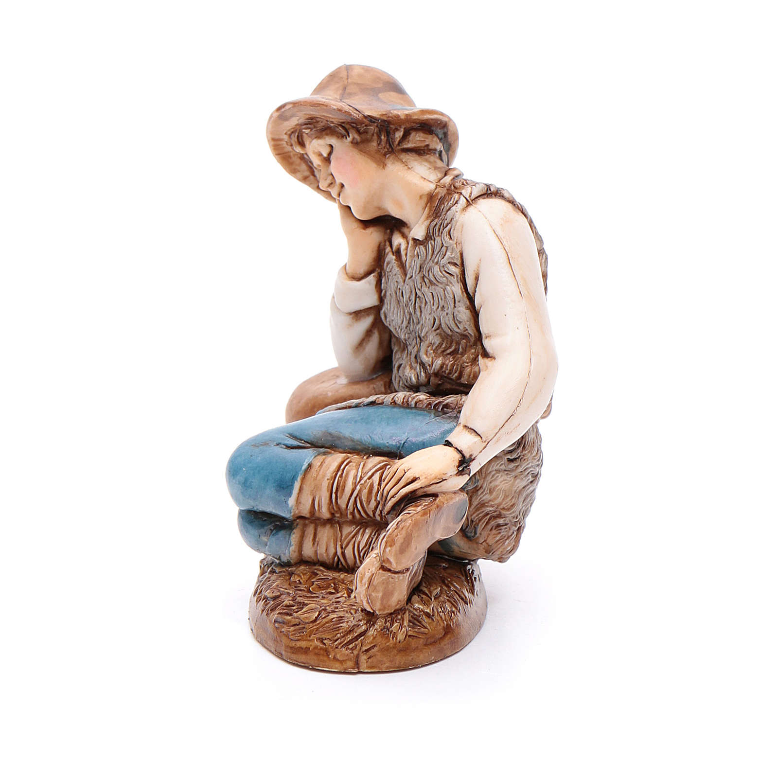 Sleeping man 12cm by Moranduzzo, classic style 4