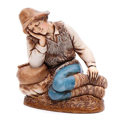 Sleeping man 12cm by Moranduzzo, classic style 1